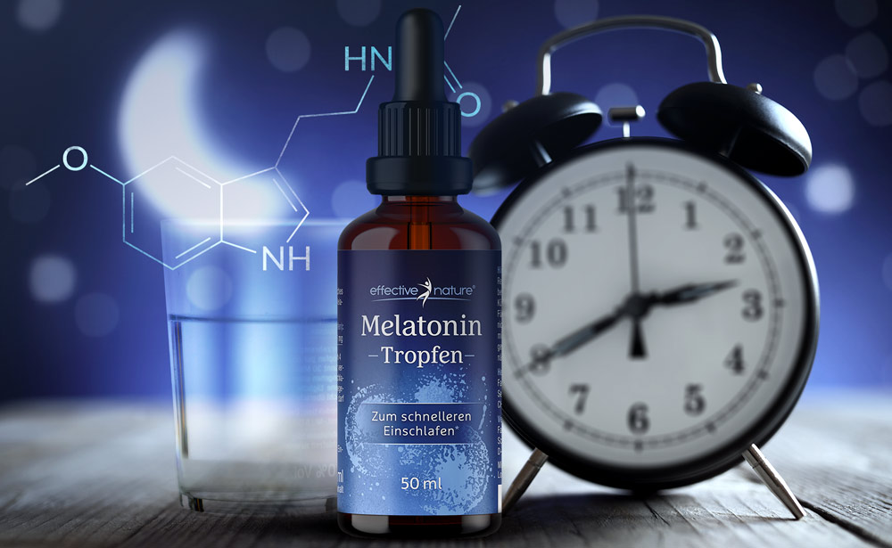 Melatonin-Tropfen von effective nature
