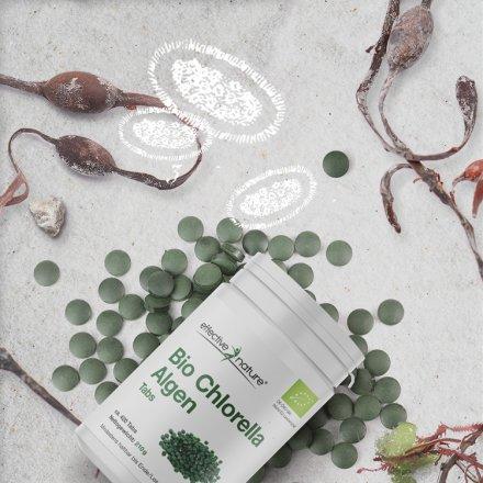 Chlorella Algen Tabletten - Bio