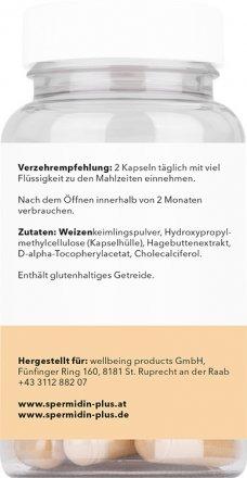 Spermidin Ursprung - natürlicher Weizenkeimextrakt