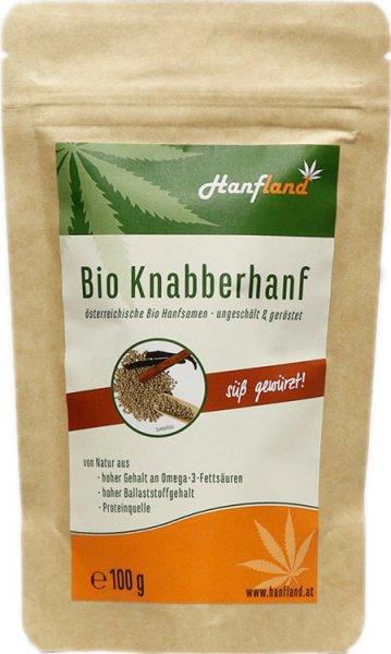 Knabberhanf süss - Bio - 100g