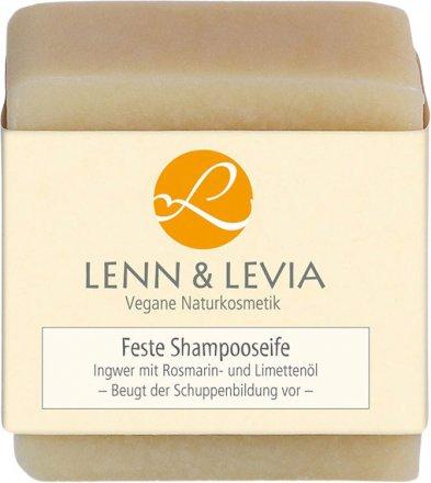 Festes Shampoo mit Ingwer und Rosmarin-Limettenöl