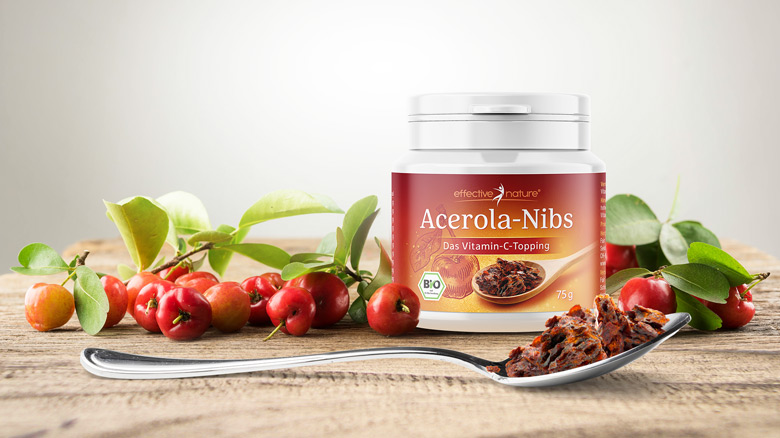 Acerola-Nibs von effective nature