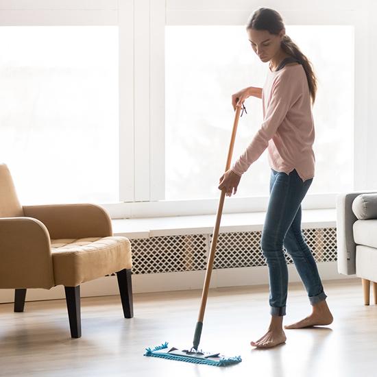 Boden-Wischpflege