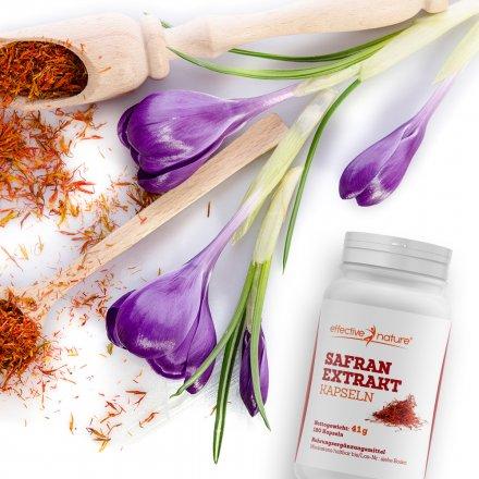 Safran-Extrakt in Kapseln