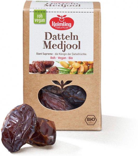 Datteln -, Medjool Giant Supreme - getrocknet - Bio - 200g