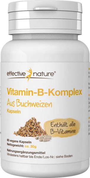 Vitamin-B-Komplex - Buchweizenkeim Kapseln - 60 Stk. - 30g