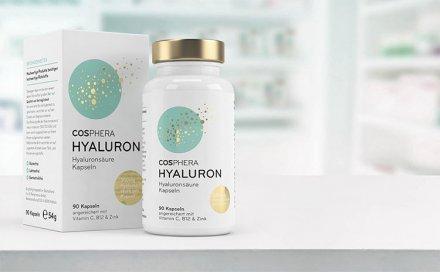 Hyaluronsäure - 90 Kapseln