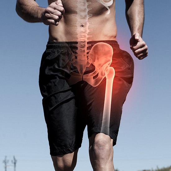Calcium für die Knochen