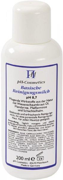 Basische Reinigungsmilch - pH 8.7 - 200ml