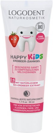 Happy Kids Zahngel - 50ml - Logona