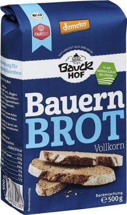 Bauernbrot Vollkorn - Bio - Bauck Hof - 500g