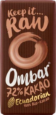 Vegane Rohschokolade mit 72% Kakaoanteil