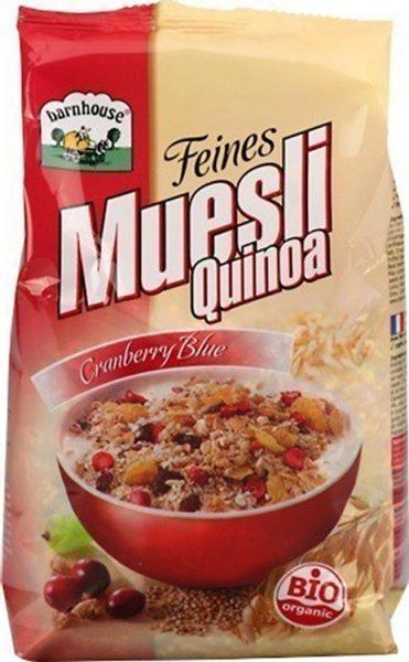Quinoa-Müsli Cranberry Blue - Bio - 450g