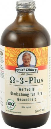 Udos Choice - Omega 3 Plus - Bio - 500ml