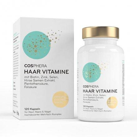 Haar-Vitamine -120 Kapseln