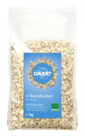 4-Korn-Flocken - Bio - 1000g