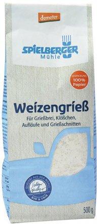 Weizengriess demeter - Spielberger - Bio - 500g