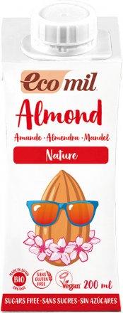 Mandel Drink Nature zuckerfrei - EcoMil - Bio - 200ml