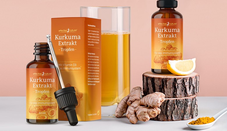 Kurkuma Extrakt von effective nature