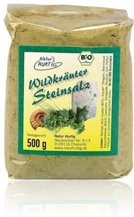 Wildkräuter Steinsalz - Bio - 500g