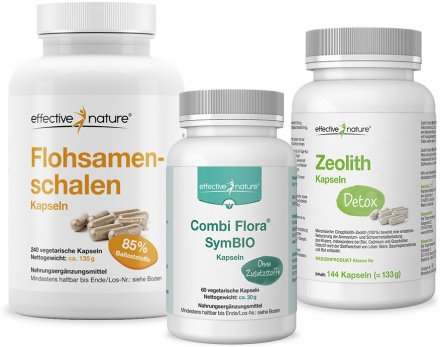 Simple Clean Detox mit Zeolith
