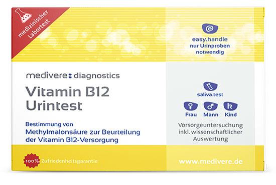 Vitamin B12 Urintest für zu Hause