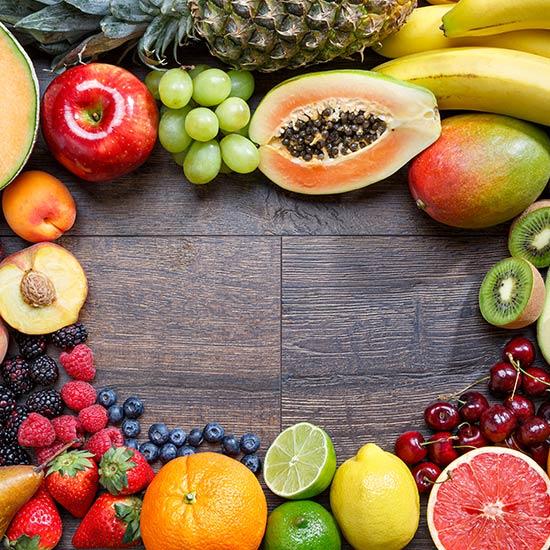 Obst als gute Quelle für Nahrungsenzyme