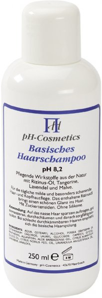 Basisches Haarshampoo - pH 8.2 - 250ml