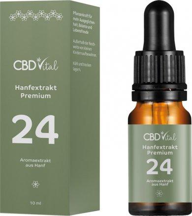 Hanfextrakt Premium - Aromaextrakt 24% - 10ml