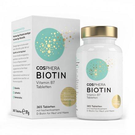 Hochdosiertes Biotin (B7)