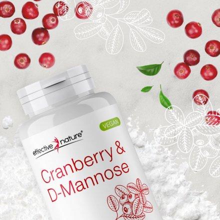 D-Mannose & Cranberry Extrakt - 90 Kapseln