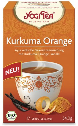 Yogi Tea Kurkuma Orange - Bio - 34g