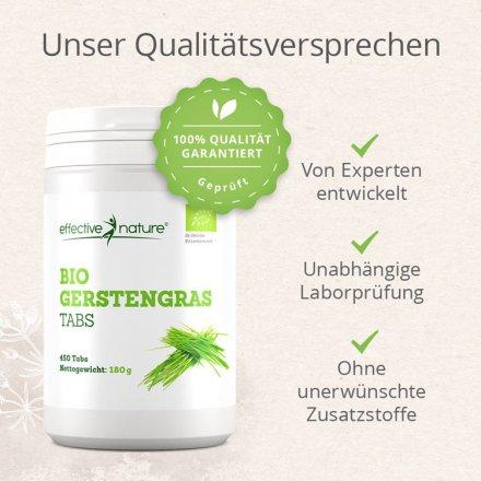 Gerstengras Tabletten