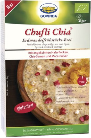 Chufli Chia - Frühstücksbrei aus Erdmandeln