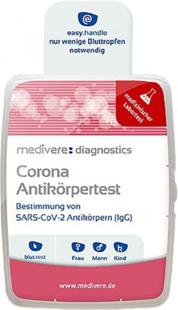 Corona Antikörpertest (IgG)