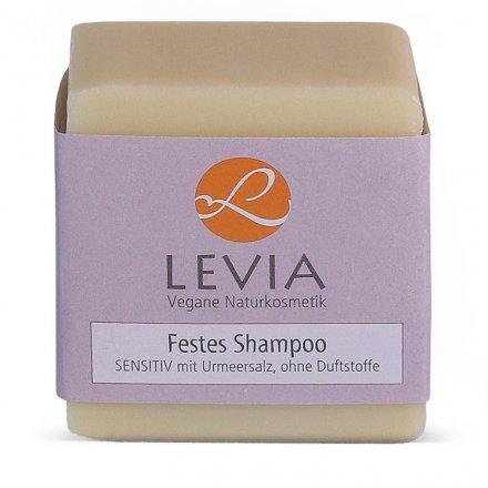 Festes Shampoo – SENSITIV mit Urmeersalz - 100g