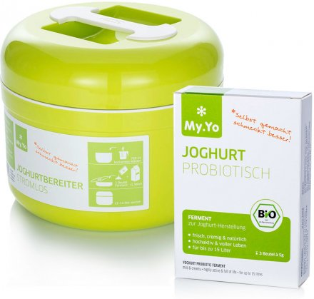 Joghurtbereiter + Joghurtferment Probiotisch