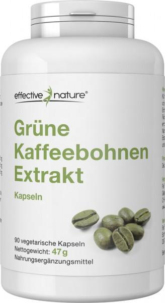 Grüner Kaffeebohnen Extrakt Kapseln - 90 Stk. - 47g