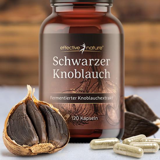 Schwarzer Knoblauch - Extrakt von effective nature