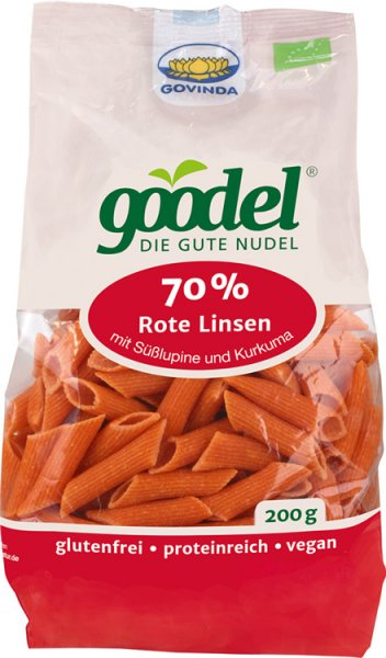 Goodel - Penne Rote Linse-Lupine - Bio - 200g