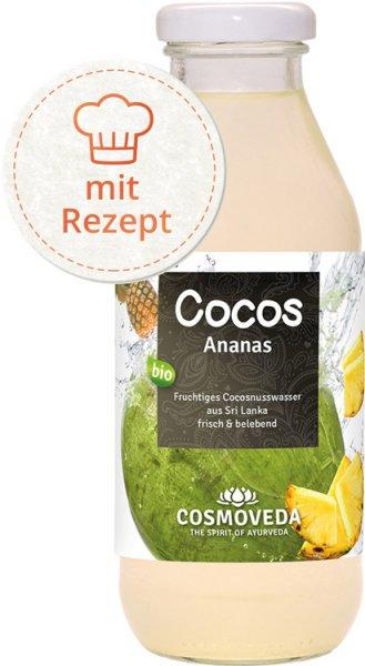 Cocosnusswasser Ananas - Bio - 360ml