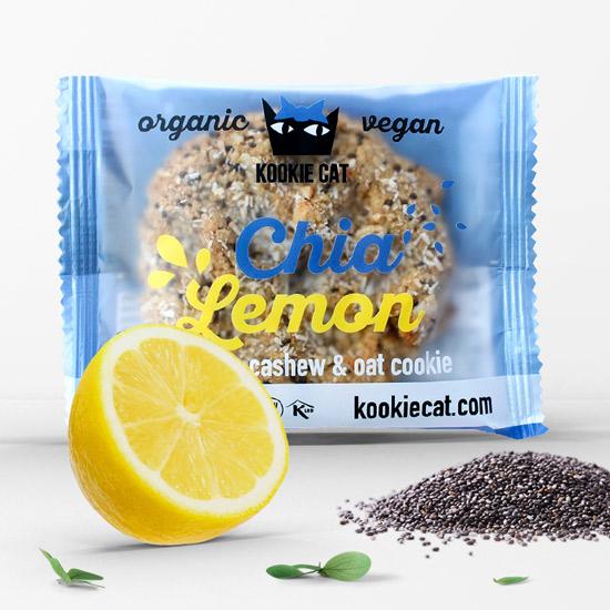 Kookie Cat Chia-Zitrone