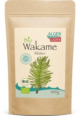 Wakame Blätter - Bio - 100g