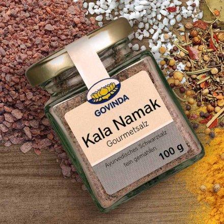 Kala Namat (Schwarzsalz) - Traditionelles ayurvedisches Steinsalz