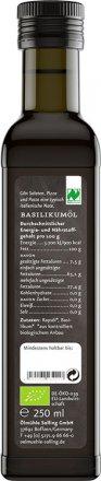 Basilikum-Würzöl aus Rapsöl