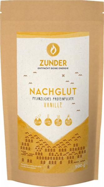 Nachglut - Pflanzliches Proteinpulver - Vanille - 500g