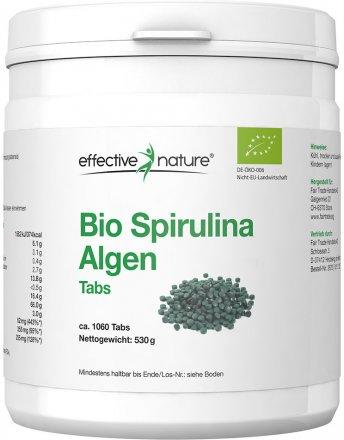 Spirulina Algen Tabletten - Bio