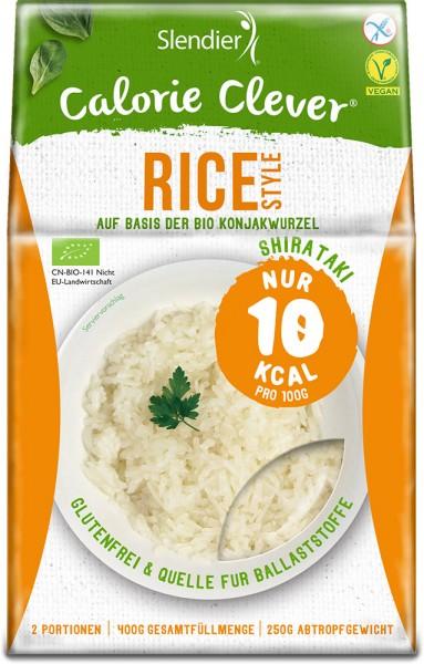 Konjak Rice Style - Slendier - Bio - 400g