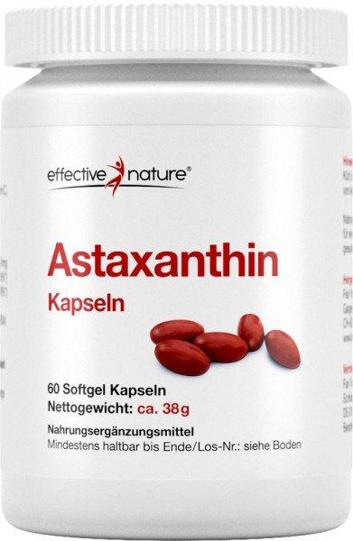 Astaxanthin - Softgel-Kapseln