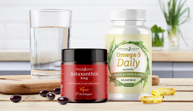 Astaxanthin mit Omega-3